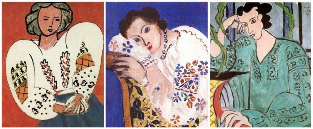 Henri Matisse - La Blouse Roumaine