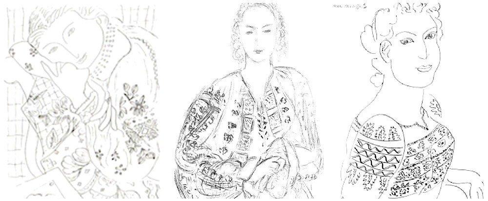 Henri Matisse - schite