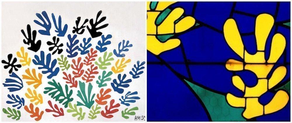 Henri Matisse - vitraliu