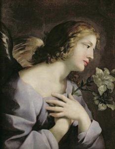 Arhanghelul Gabriel - Giovanni Francesco Romanelli