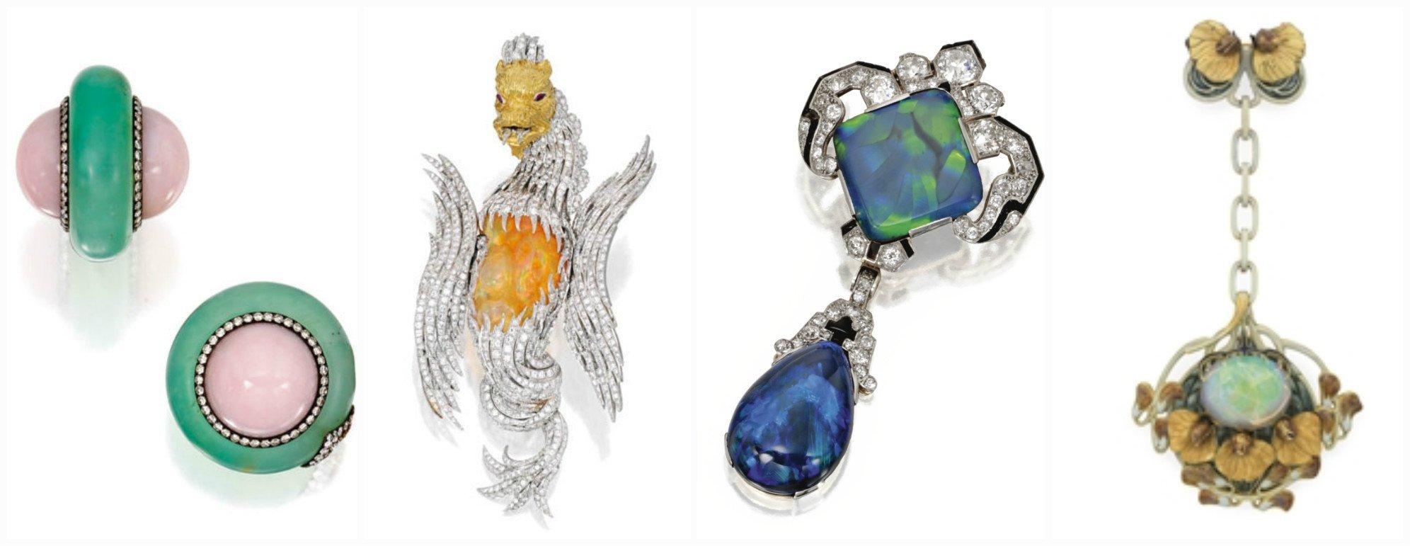 Bijuterii cu pietre de Opal