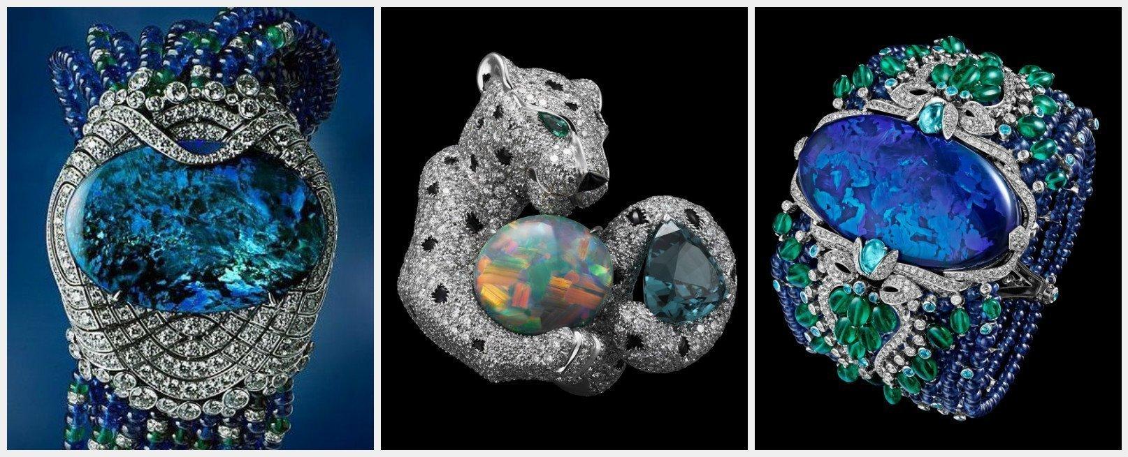 Bijuterii cu Opal (Casa Cartier)