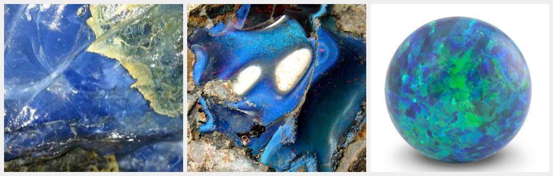 Opal Albastru