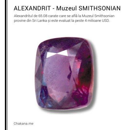 Alexandrit (Muzeul Smithsonian)